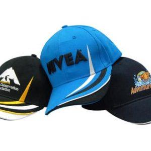Contrast Colour Hats & Caps