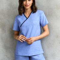 Nurse in medical attire
